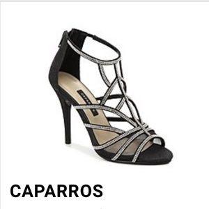 Caparros black formal heels